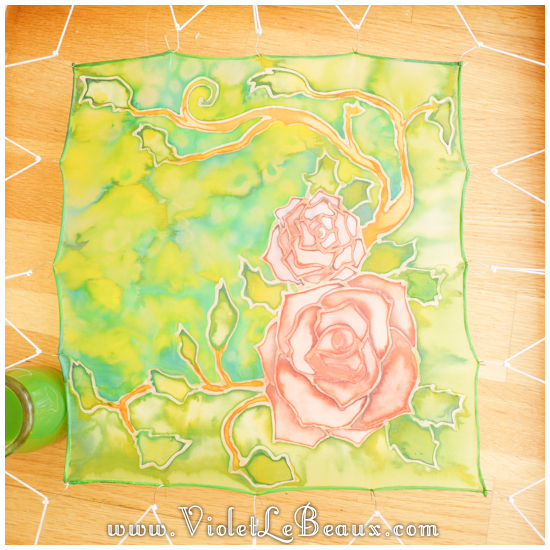 16 how to silk paint rose Watercolour Style Silk Painting Experiments!