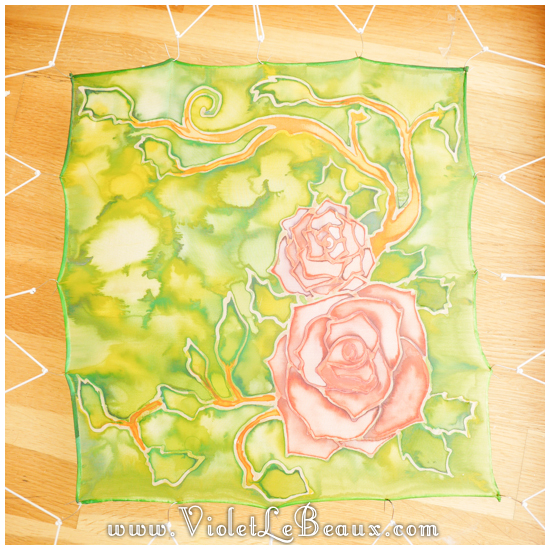 17 how to silk paint rose Watercolour Style Silk Painting Experiments!