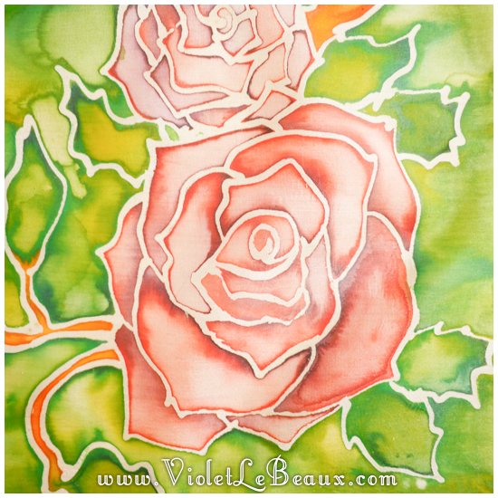 19 how to silk paint rose Watercolour Style Silk Painting Experiments!