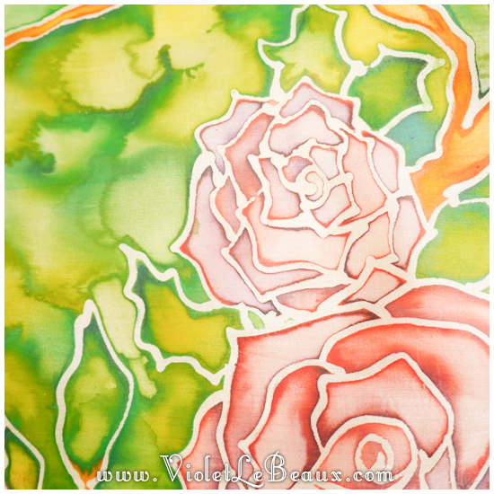 20 how to silk paint rose Watercolour Style Silk Painting Experiments!