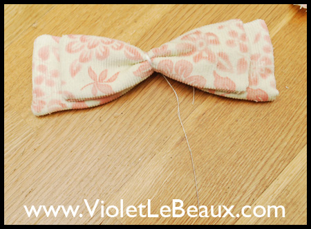 JD Style Double Layer Hair Bow
