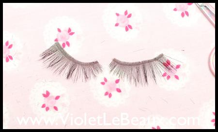 Make Your Own False Eyelashes