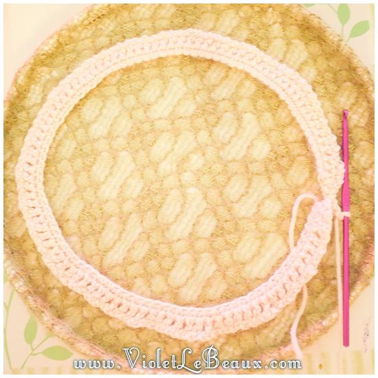 05 crochet collar pattern Removable Crochet Collar Tutorial