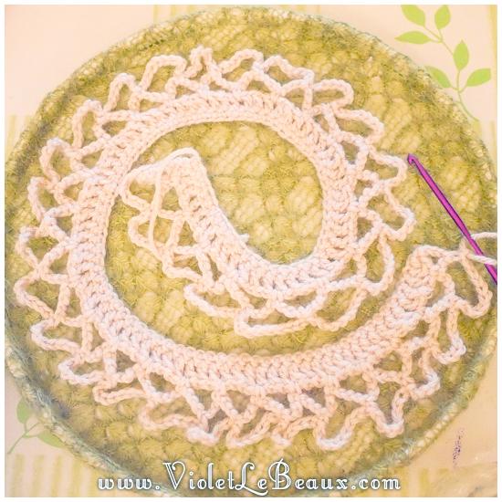 09 crochet collar pattern Removable Crochet Collar Tutorial