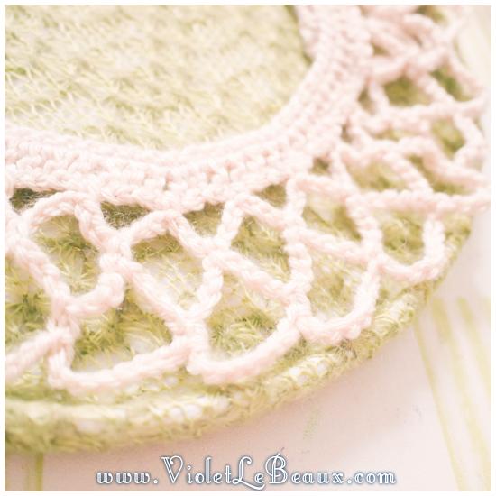 14 crochet collar pattern Removable Crochet Collar Tutorial