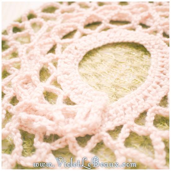 16 crochet collar pattern Removable Crochet Collar Tutorial