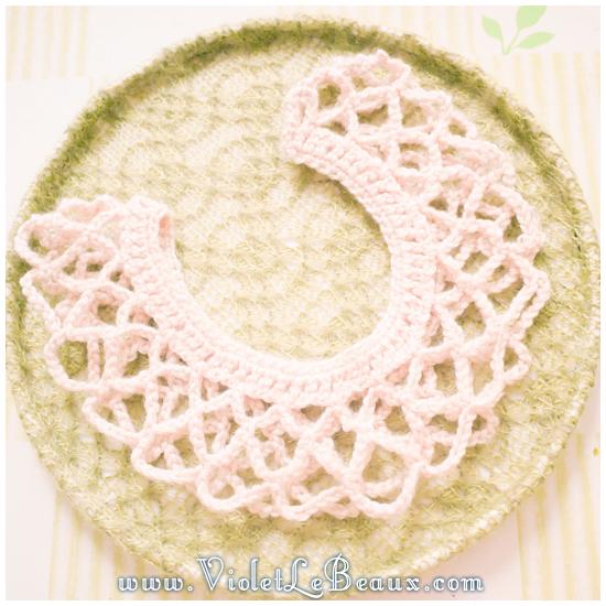 17 crochet collar pattern Removable Crochet Collar Tutorial