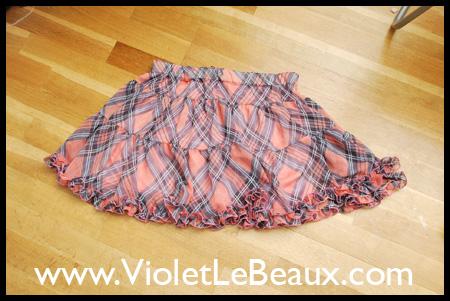 Replacing an Elastic Skirt Waist Tutorial