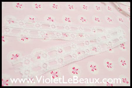 Lolita Style Sock Topper Tutorial