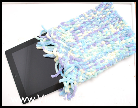 Woven Laptop and iPad Case Tutorial