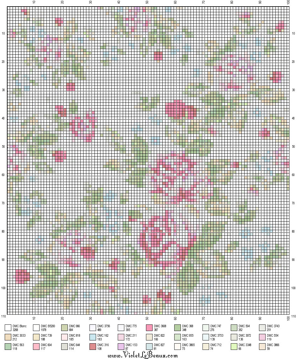 Knitting Pattern Design Grid : Bergamot And Friends Pattern Grid Download! Violet LeBeaux - Tales of an In...