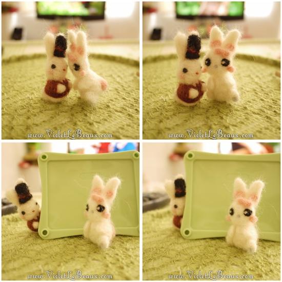 00 bergamot bunny toy Sir Reginald Bunnikins Finds Bergamot Bunny