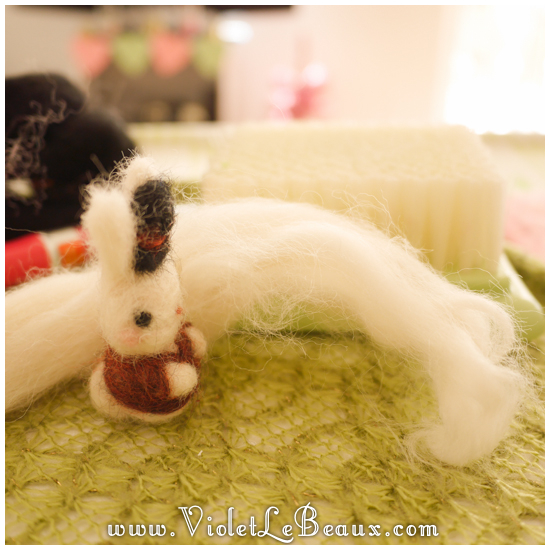04 bergamot bunny toy Sir Reginald Bunnikins Finds Bergamot Bunny