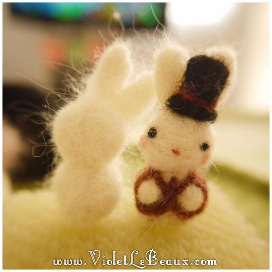 08 bergamot bunny toy Sir Reginald Bunnikins Finds Bergamot Bunny