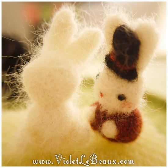 09 bergamot bunny toy Sir Reginald Bunnikins Finds Bergamot Bunny