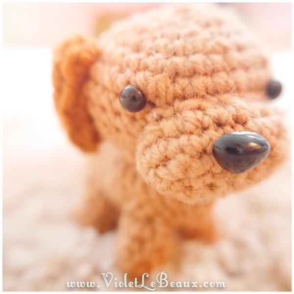 Amigurumi Eyes Australia : Amigurumi Dog Violet LeBeaux - Tales of an Ingenue