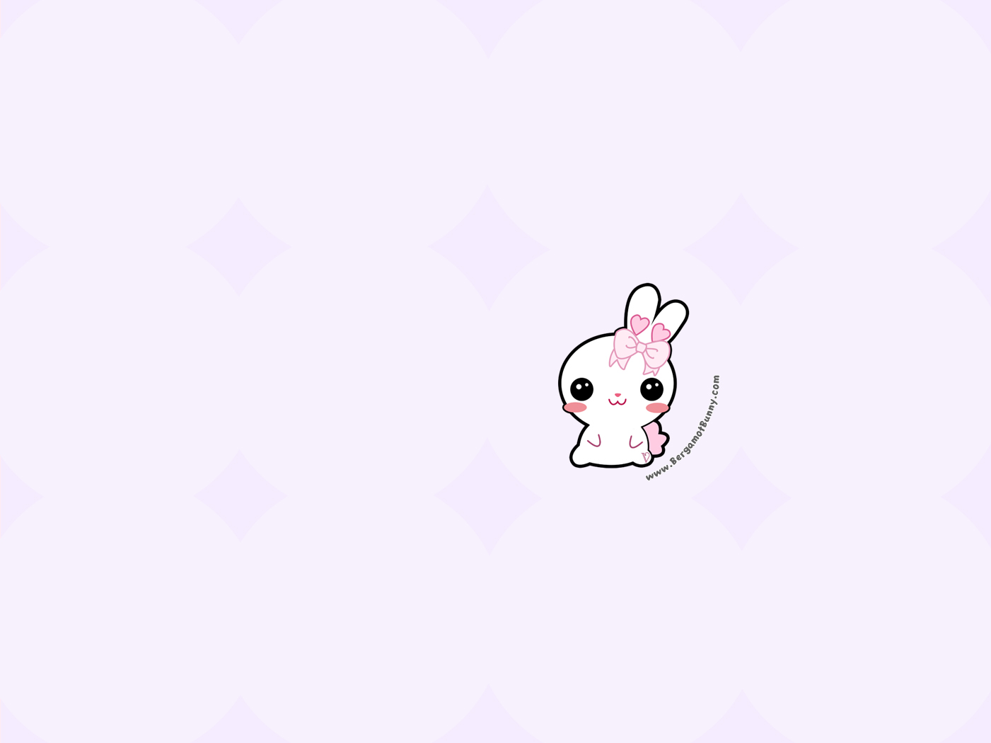 free bergamot bunny wallpapers to download violet