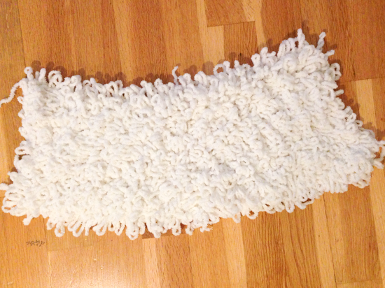crochet rug pattern 9468 How To Crochet A 365 Day Shaggy Loop Rug   Home Sweet Home