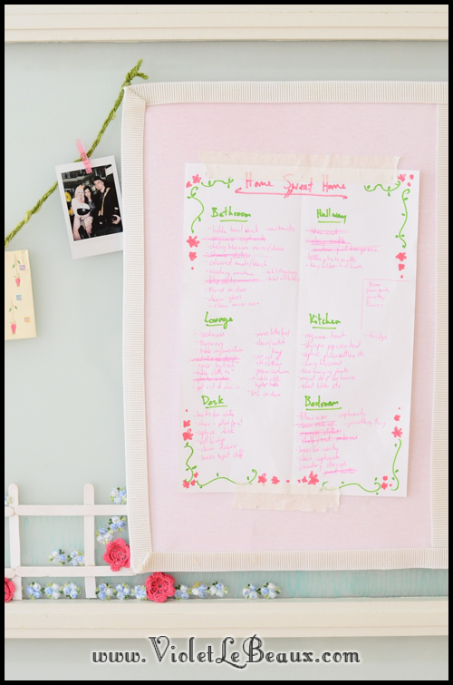 make a noticeboard 3440 My Photo Wall and Notice Board   Home Sweet Home