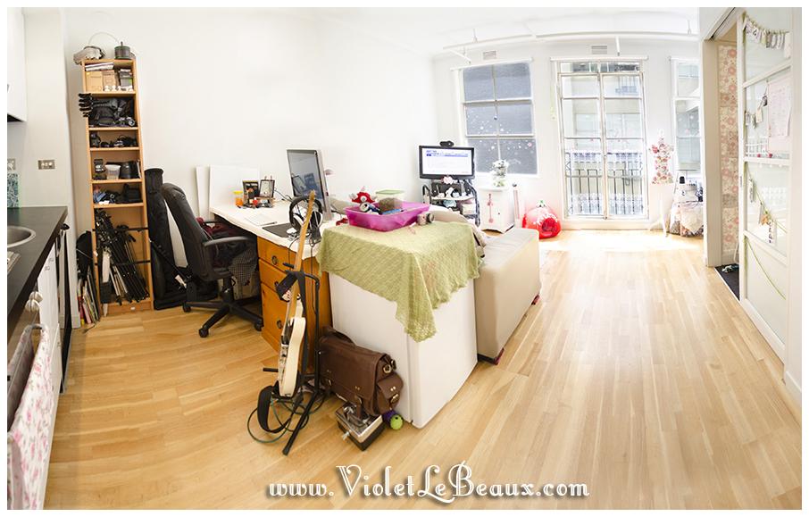 Violets-Kawaii-Beautiful-Living-Room-Decoration back