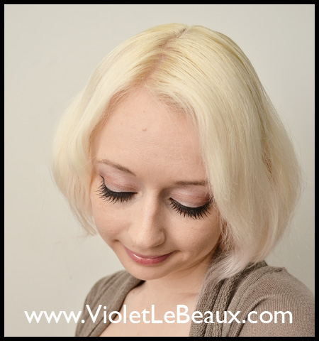 Faux Bob Hairstyle For Long Hair Photo Tutorial - Violet LeBeaux