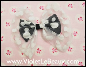 Hair Bow Inside a Bow Tutorial