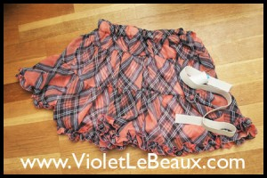 Replacing an Elastic Skirt Waist Tutorial