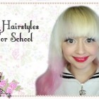 12 School Friendly Hairstyles and Rose Garden OOTD