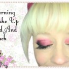 Dark Red And Black – Morning Make Up