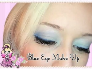 Morning Make Up- Simple Blue Eyes