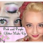 Morning Make Up- Super Glitter Pink and Purple