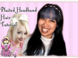 How To Do A Plaited Headband Hair Tutorial- Styling Celeste