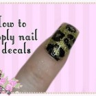 How To Apply Nail Decals