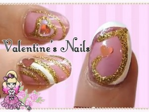 Sweet Valentine's Day Nail Art Design Tutorial