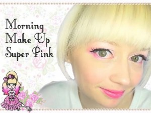 Super Pink Eyes – Morning Make Up