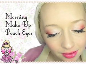 Peach Eyes – Morning Make Up