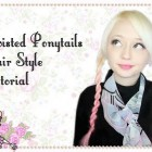 Fun Twisted Pigtails Hairstyle Tutorial