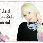 Easy Fishtail Braid Hairstyle Tutorial