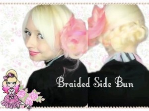 Spring Sidebun Braid – Hairstyle Tutorial