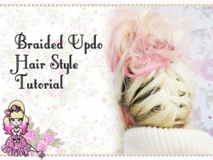 Braided Updo Hair Style Tutorial