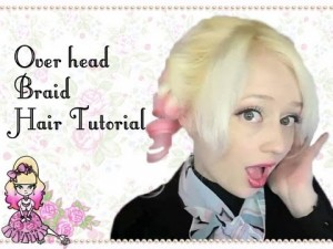 Curled Headband Braid Hair Style Tutorial
