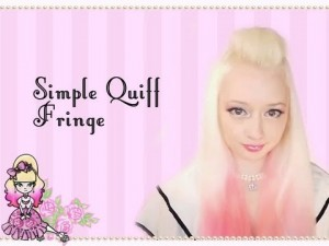 Quick Simple Quiff Hair Style Tutorial