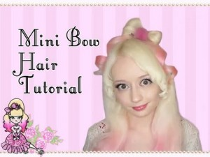 Mini Bow Hairstyle Tutorial