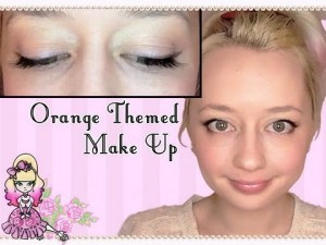 Morning Make Up- The Only Orange I'll Wear