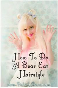 10 bear ear hairstyle tutorial violet lebeaux 200x300 Tutorials