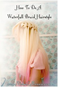 109 waterfall braid hairstyle tutorial violet lebeaux 200x300 Tutorials