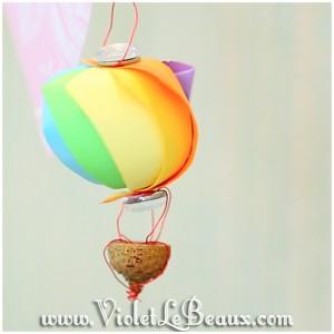19 hot air balloon origami 300x300 Tutorials