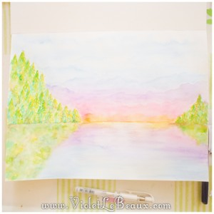 28 watercolor painting tutorial landscape painting 300x300 Tutorials