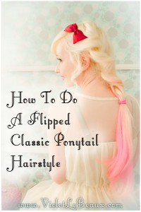14 twisted ponytail hairstyle tutorial violet lebeaux 200x300 Tutorials