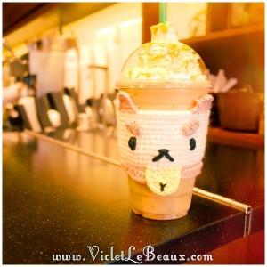 19 diy bee and puppycat crochet coffee cozy 300x300 Tutorials